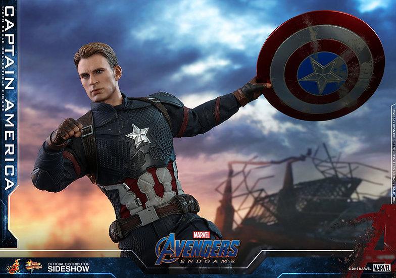 Capitan America Avengers Endgame by Hot Toys 1/6 Pre Orden