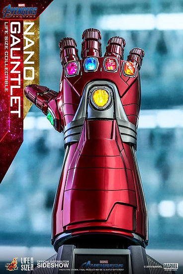Nano Gauntlet Life-Size Replica by Hot Toys Avengers: Endgame