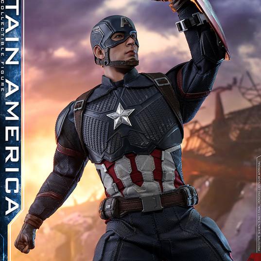 Capitan America Avengers Endgame by Hot Toys 1/6