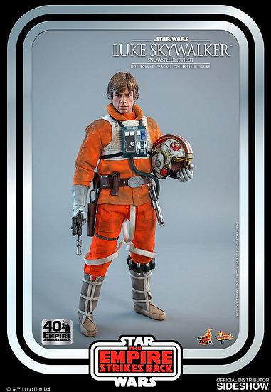 Luke Skywalker Snowspeeder Pilot Star Wars 40th Anniv Hot Toys