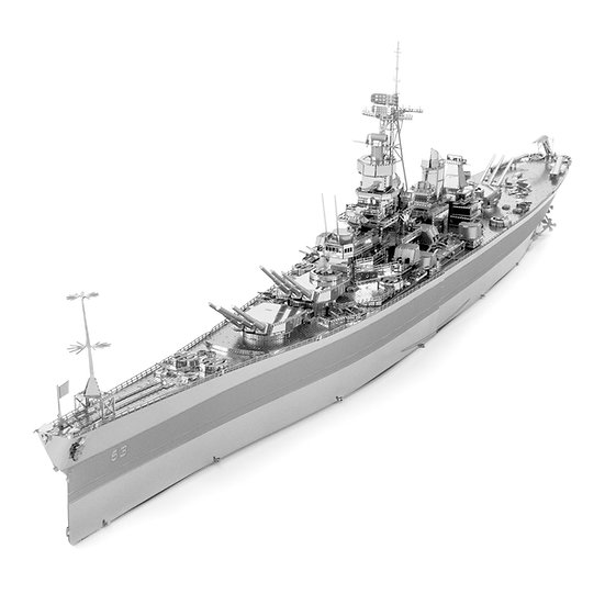 ICONX - USS Missouri - NEW by Metal Earth