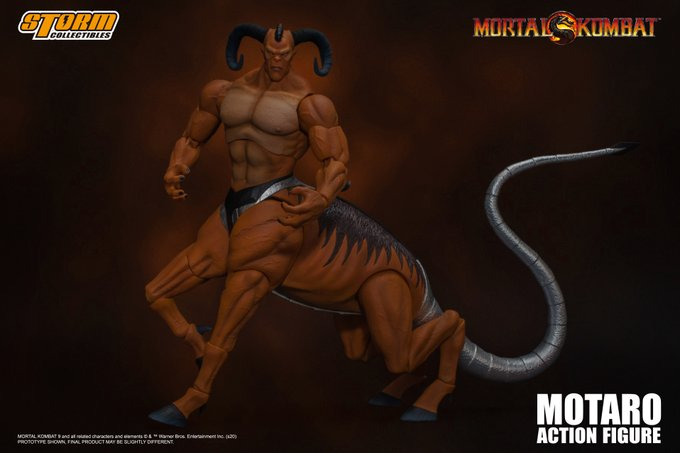 "Motaro ""Mortal Kombat"", Storm Collectibles 1:12 Action Figure"