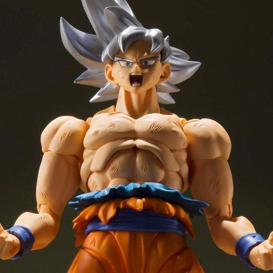Goku Ultra Instinto SH Figuarts Dragon Ball Super Bandai