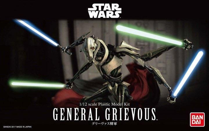 General Grievous Star Wars Bandai 1/12 Model Kit