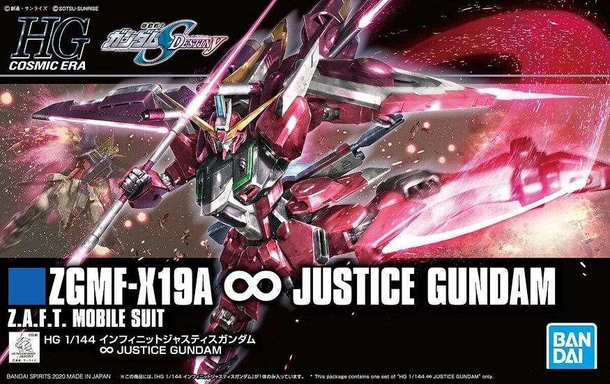 "#231 Gundam Infinite Justice ""Gundam SEED DESTINY"", Bandai Spirits HGCE 1/144"