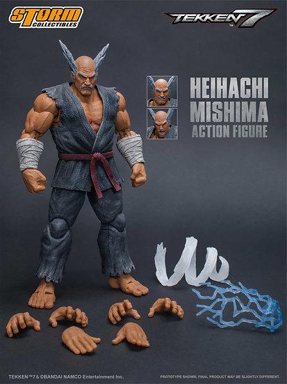 """Heihachi Mishima """"Tekken 7"""", Storm Collectibles 1/12 Action Figure"""