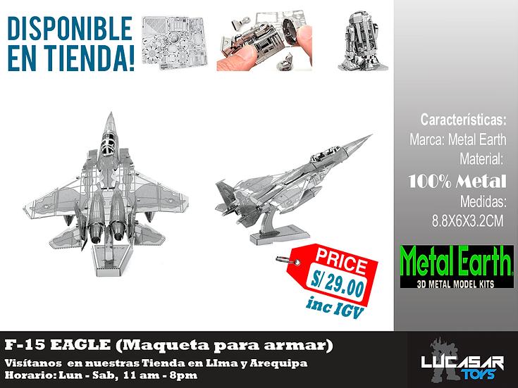 F 35 Eagle Metal Earth