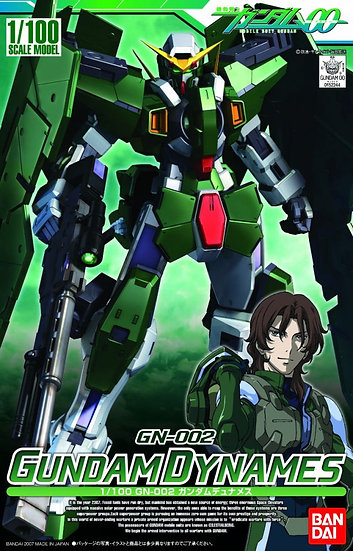 "#2 Gundam Dynames ""Gundam 00"", Bandai 1/100 00"