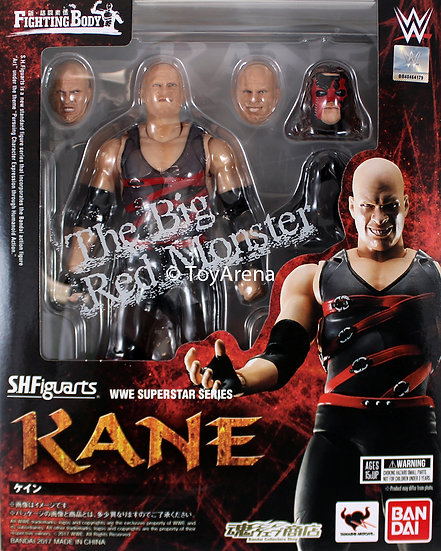 Kane Glenn Thomas Jacobs WWE SH Figuarts Bandai