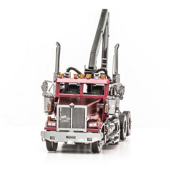 Western Star 4900 Log Truck by Metal earth