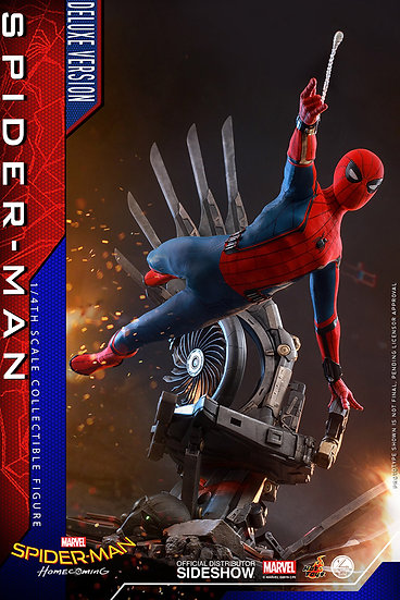 Spider-Man (Deluxe Version) Special Edition Quarter Scale by Hot Toys Spider-Man