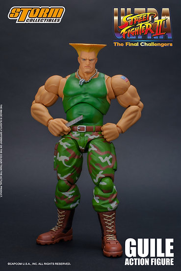 """Guile """"Street Fighter"""", Storm Collectibles 1:12"""
