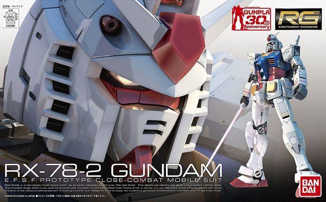 "RX-78-2 Gundam ""Mobile Suit Gundam"", Bandai RG 1/144"