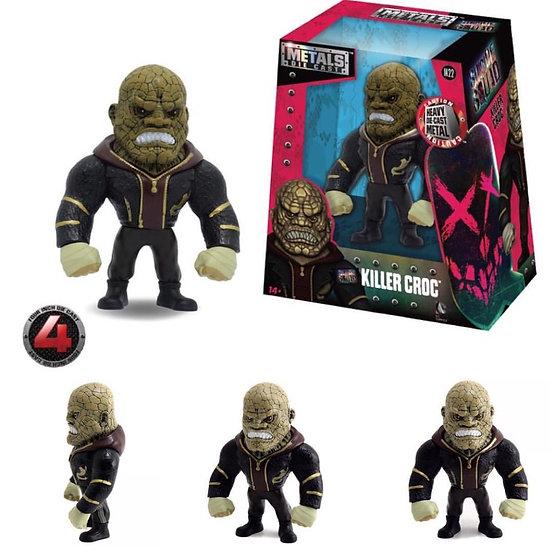 Killer Croc sin capucha De Metal 13 Cm Jada Toys