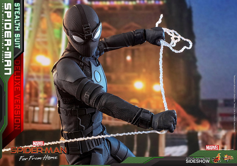 Spider-Man (Stealth Suit) Deluxe Version Far From Home - Movie by Hot Toys 1/6
