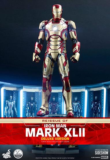 Iron Man Mark XLII (Deluxe Version) Quarter Scale Figure by Hot Toys - Pre Orden
