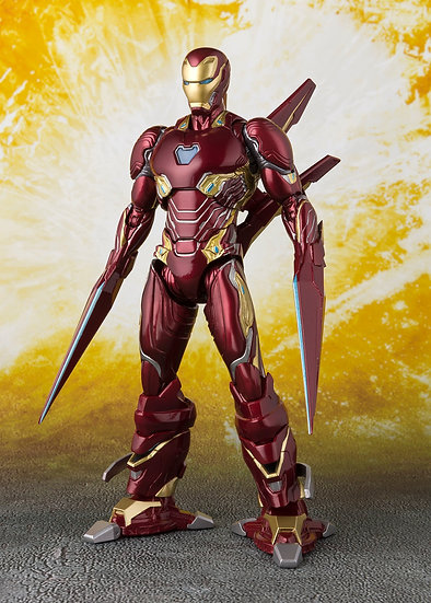 Iron Man Mark 50 Nano Weapon Set SH Figuarts , Infinity War Bandai