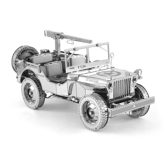 ICONX - Willy's Jeep - NEW by Metal Earth