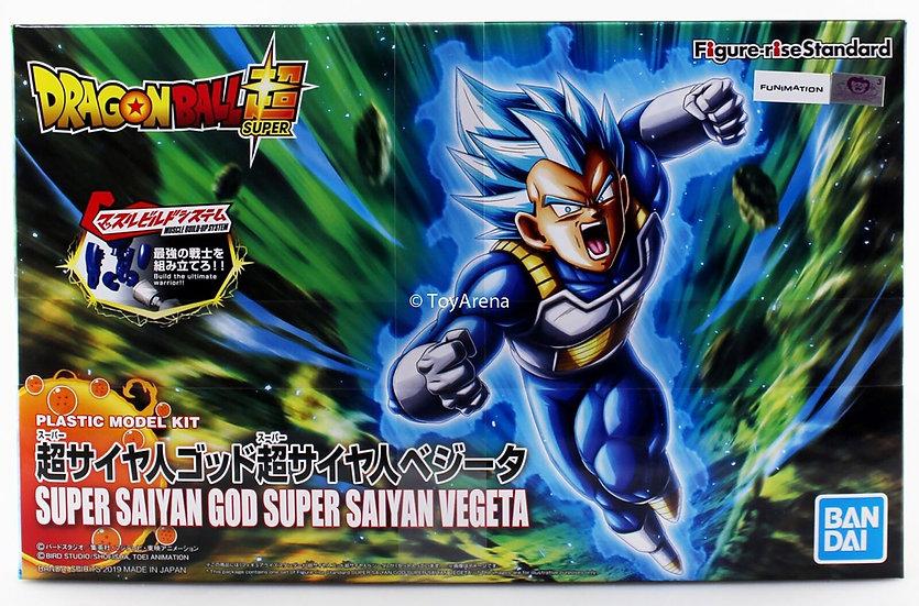 "Super Saiyan God Vegeta (New Pkg Ver) ""Dragon Ball Super"", Bandai Figure rise"