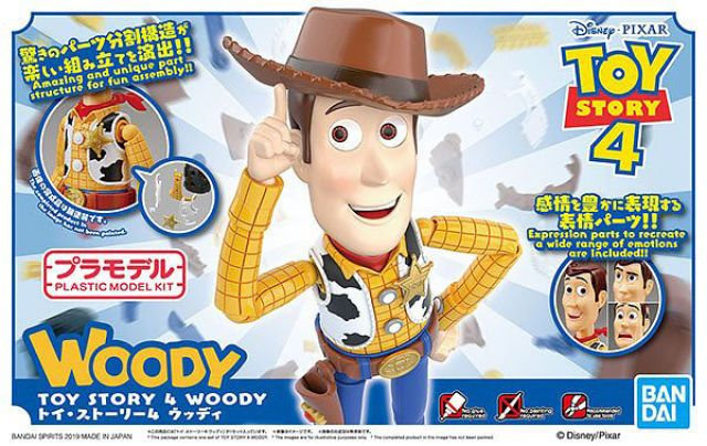 "Woody ""Toy Story"", Bandai Cinema-Rise Standard"