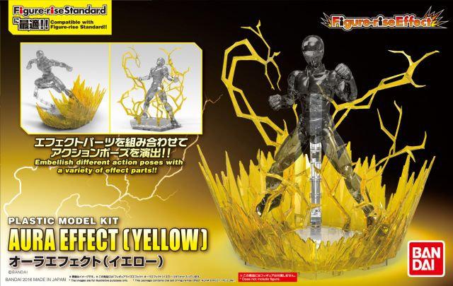 Aura Effect Yellow Bandai Figure rise