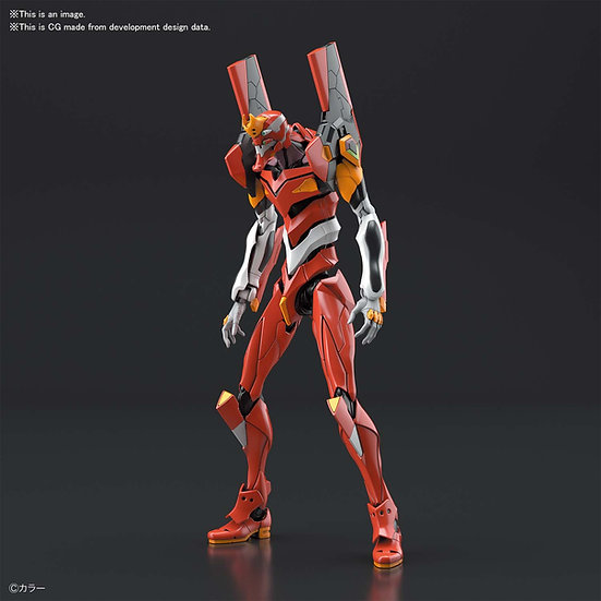 "Evangelion Production Model-02 ""Neon Genesis Evangelion"", Bandai Real Grade"