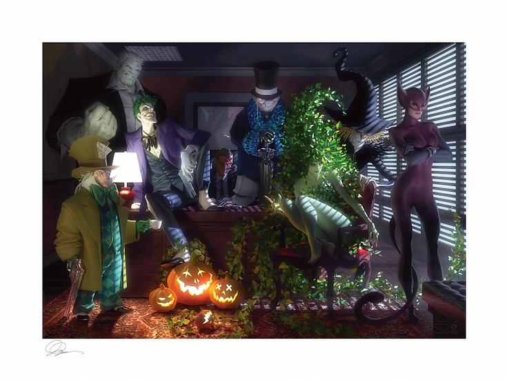 Batman: The Long Halloween Art Print Sideshow