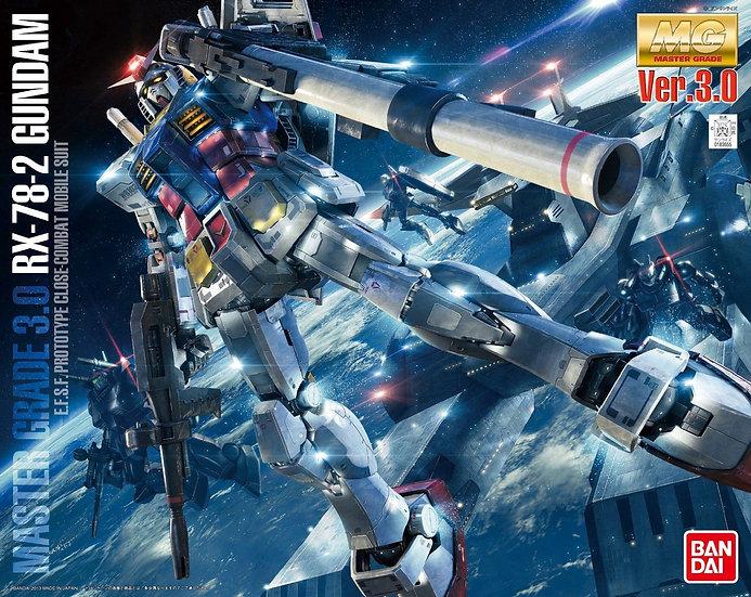 """RX-78-2 Gundam (Ver. 3.0) """"Mobile Suit Gundam"""", Bandai MG 1/100"""