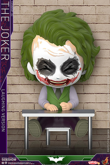 Joker (Laughing Version) Cosbaby(s) - The Dark Knight (Hot Toys)