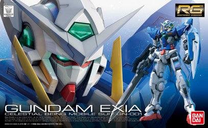 Gundam Exia Bandai RG 1/144