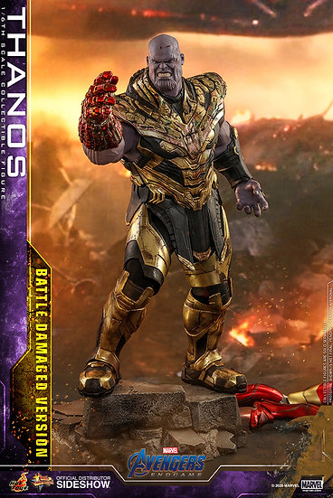 Thanos (Battle Damaged Version) Avengers: Endgame by Hot Toys
