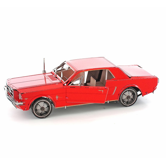 Metal Earth - 1965 Ford Mustang Coupe, Red Version