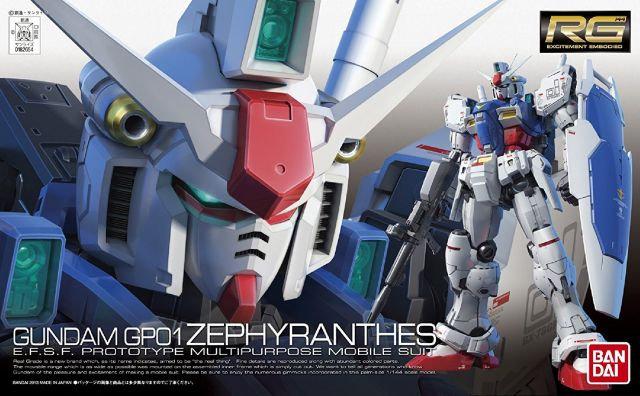 RX-78GP01 GUNDAM GP01 ZEPHYRANTHES 1/144 RG Bandai