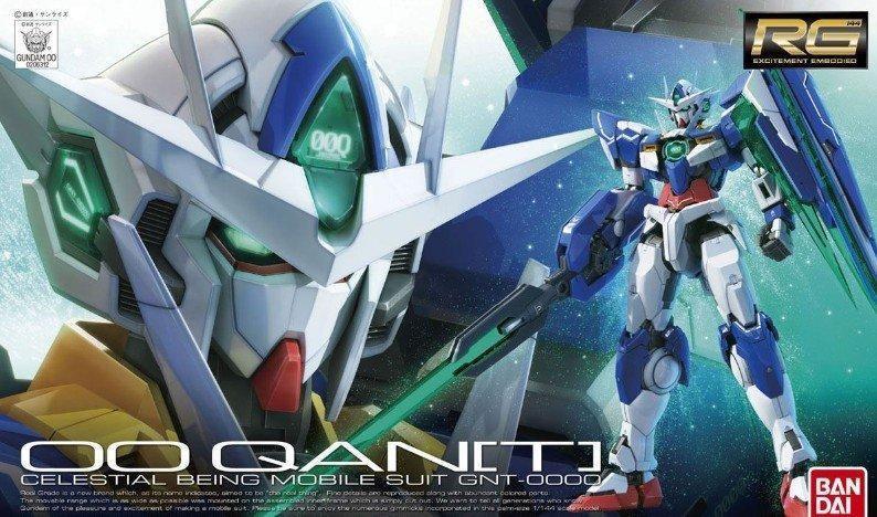 "#21 00 QAN[T] ""Gundam 00"", Bandai RG 1/144"