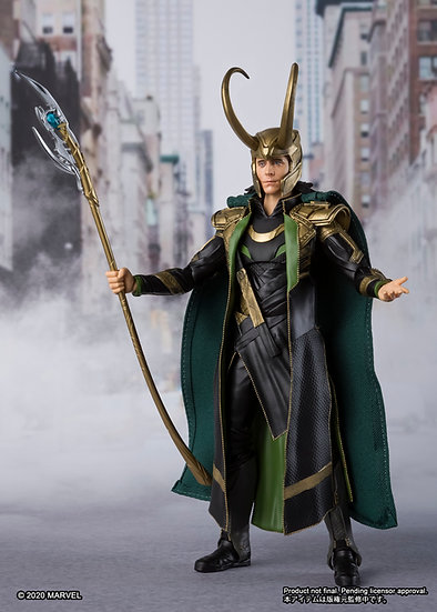 Loki Avengers Bandai Tamashii Nations SH Figuarts bandai