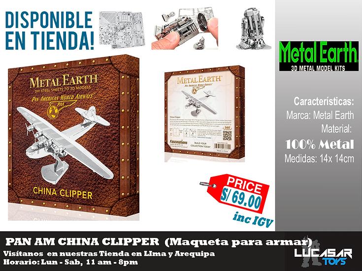 Pan Am China Clipper Box Version Metal Earth