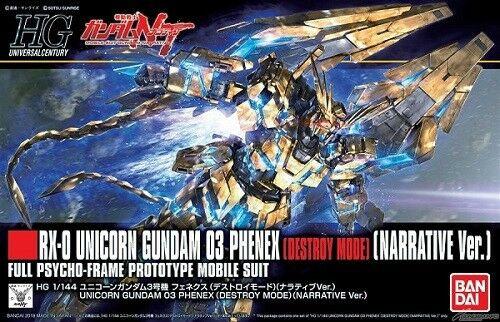 Unicorn Gundam 03 Phenex Destroy Mode HGUC 1/144 Bandai