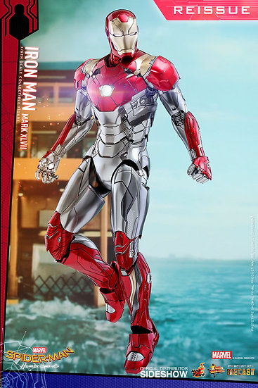 Restock Iron Man Mark XLVII Diecast by Hot Toys Spider-Man: Homecoming