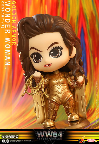 Golden Armor Wonder Woman Hot Toys Wonder Woman 1984 - Cosbaby(S) Series