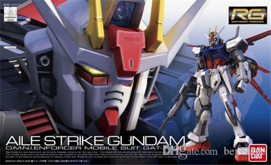 GAT - X105 Aile Strike Gundam Bandai RG  1/144