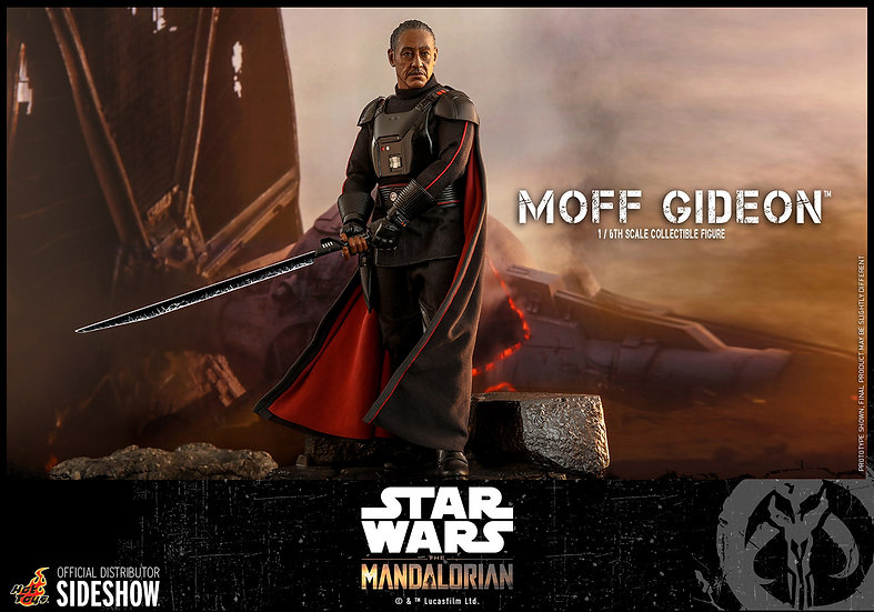 Moff Gideon The Mandalorian series by Hot Toys