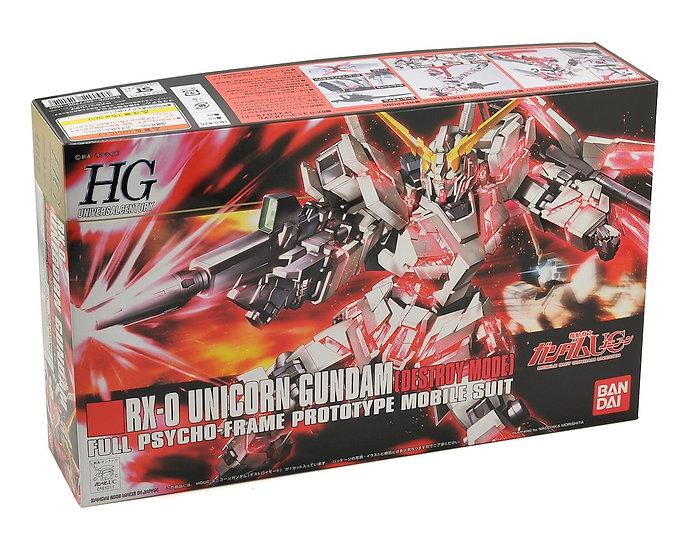 Unicorn Gundam Destroy Mode HGUC 1/144