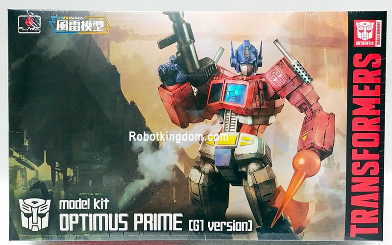 "Optimus Prime (G1 Ver.) ""Transformers"", Flame Toys Furai Mode"