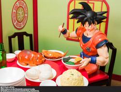 "Son Goku's Harahachibunme Set ""Dragon Ball Z"", Bandai Spirits SH Figuarts"