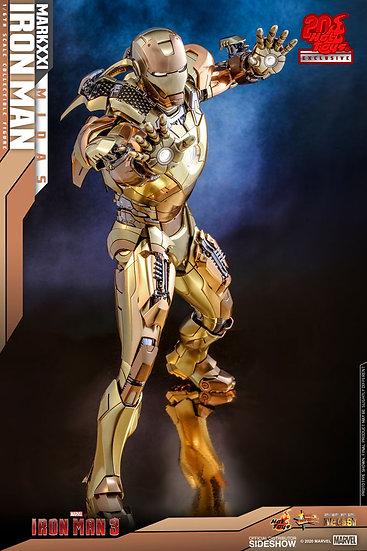 Iron Man Mark XXI (Midas) Hot Toys Exclusive Diecast