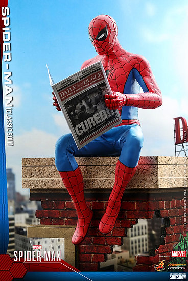 Spider-Man (Classic Suit) Marvel�s Spider-Man by Hot Toys