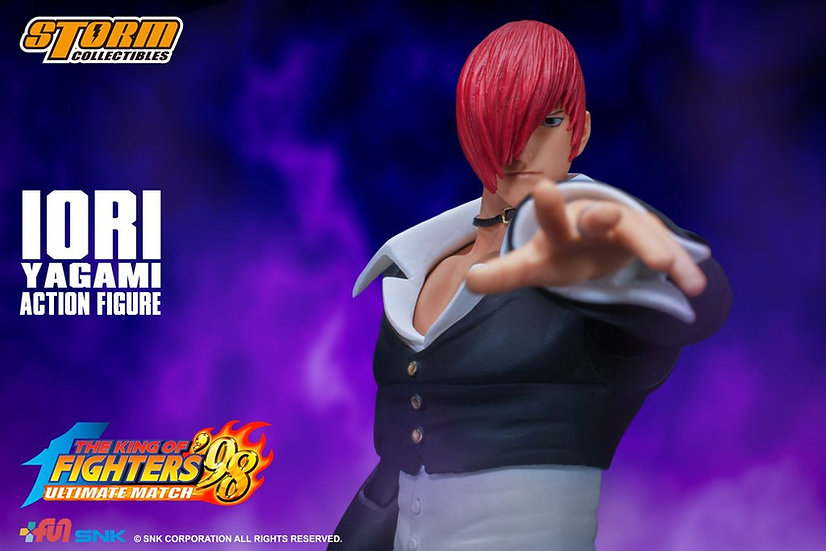 """Iori Yagami """"King of Fighters '98"""", Storm Collectibles 1/12"""