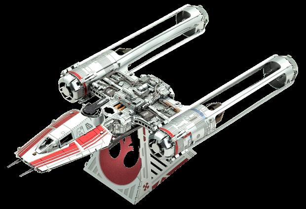 Star Wars Zorri's Y-Wing Fighter by Metal Earth