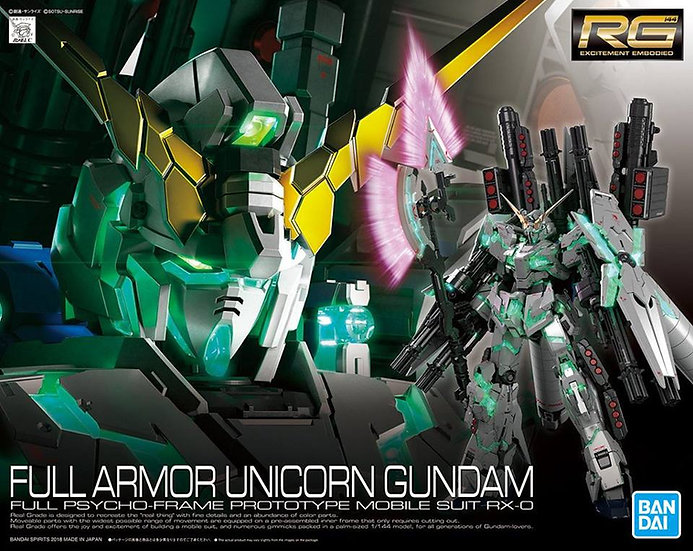 #30 Full Armor Gundam Unicorn Bandai RG 1/144