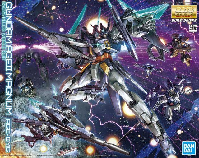 "Gundam AGE II Magnum ""Gundam AGE"", Bandai MG"